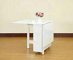 Braun Size/Dimension: 5 X 2 Dining table folding