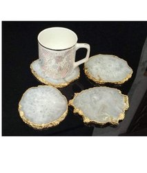 SHA-9014 Natural Stone Coaster Set
