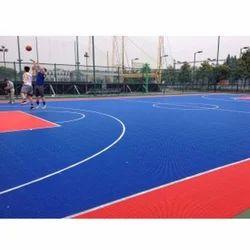 100% PP Basketball Interlocking Flooring