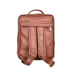 The Art Brown Leather Backpack Bag