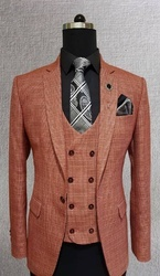 Cotton And Nylon Mens Party Wear Suits