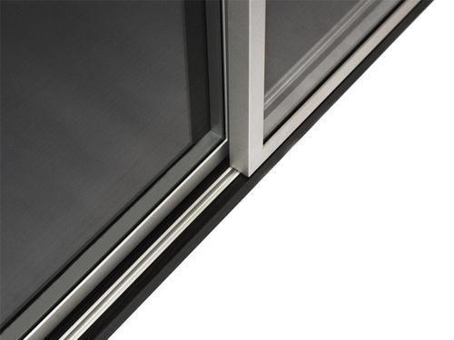 Glass Door Sliding Aluminum Track Sliding Folding System Janson