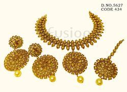 Traditional Polki Necklace Set