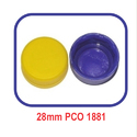 Plastic Blue, Yellow Multicolor Mineral Water Bottle Caps
