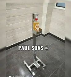 PAUL SONS STAINLESS STEEL SANITIZER STAND