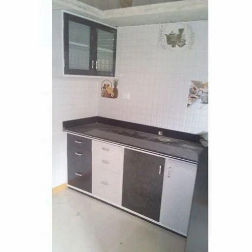 Shree Dev Alluminium And Kitchen Point PVC Laminated Kitchen Cabinet