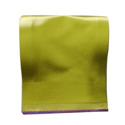 Plain Yellow Velvet Curtain Fabric, GSM: 100-150