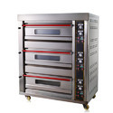 3 Deck 6 Trays gas Bakery Oven