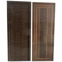 Hinged Laminated Decorative PVC Door