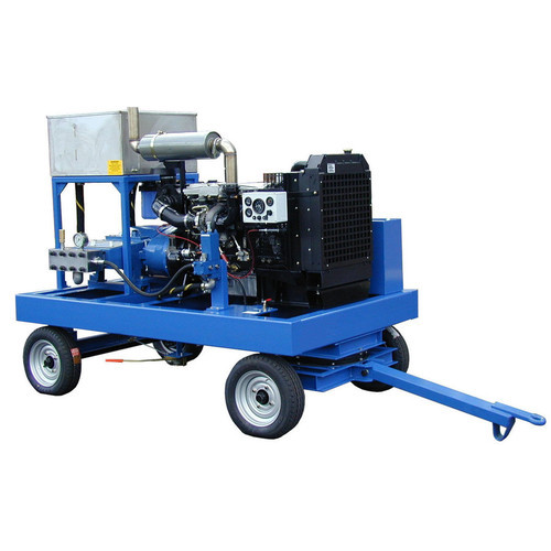High Pressure Water Jetting Units