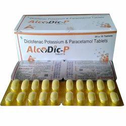 Diclofenac Potassium Paracetamol Tablet