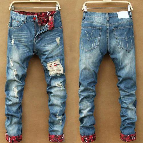 3d3de2a18 Mens Denim Designer Ripped Jeans, Rs 550 /piece, Ridhi Sidhi ...