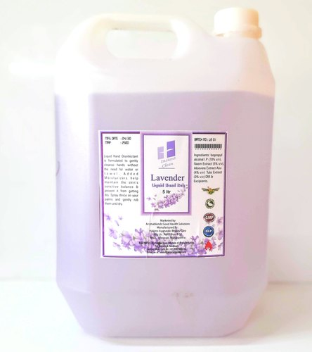 Asopo Alcohol Based Hand Sanitizers 5ltr Can