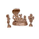 16 Inches Bronze Vishnu Statue