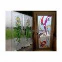 Multicolor Decorative Glass