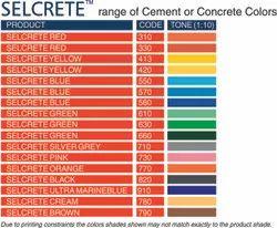 Concrete And Cement Colors