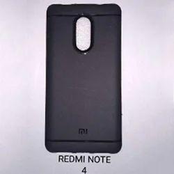Black Silicon Mobile Covers