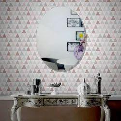 Oval Decorative Glass Mirror