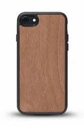 Back Apple iPhones Natural Wood Mobile Case