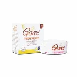 Goree Day Night Whitening Cream, Packaging Type: Cream Jar, for Personal
