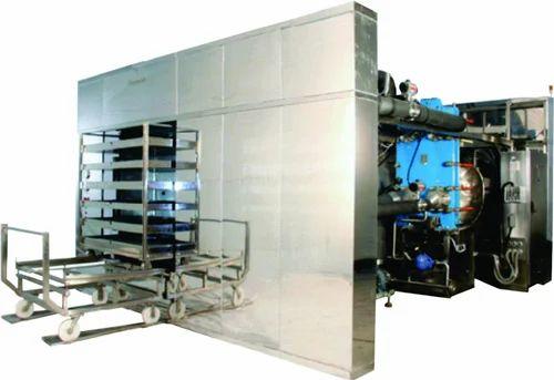 Super Heated Water Spray Sterilizer