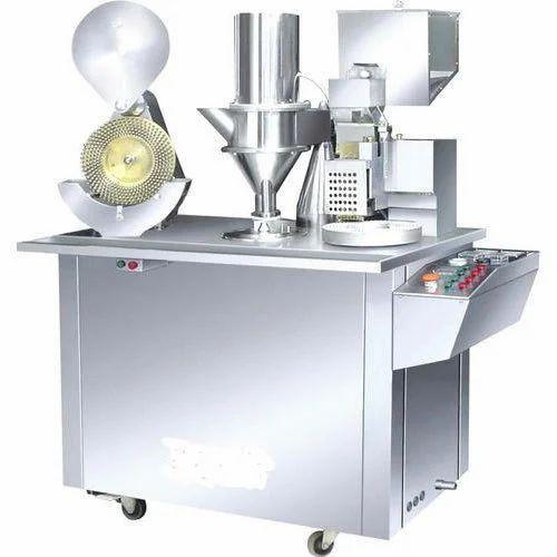 Capsule Filling Machine, Capacity: 6001-12000 Capsules ...