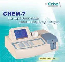 Biochmeistry Analyzer Chem7-Erba