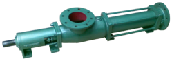 Principle for Progressive Cavity Single Screw Pumps