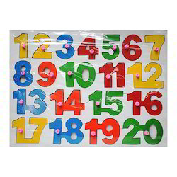 Counting Wooden Puzzle
