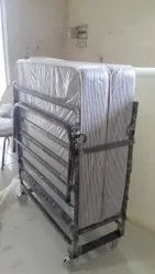 Iron Folding Bed With Mattress