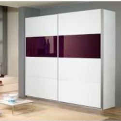 White Wooden Modular Wardrobe