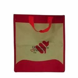 Handled Printed Matty Loop Handle Carry Bag for Grocery
