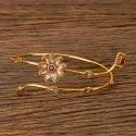 Antique Classic Baju Band With Gold Plated 203052