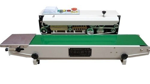 Continuous Band Sealing Machine, for Pouch Sealing, Horizontal, Rs 12500  /piece | ID: 19627971512