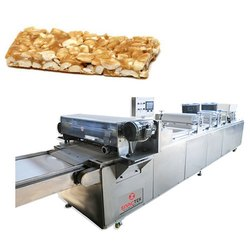 Peanut Candy Bar Sheeting and Cutting Machine