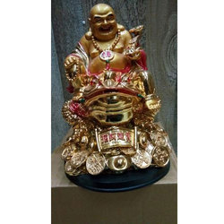Laughing Buddha Carrying Coins
