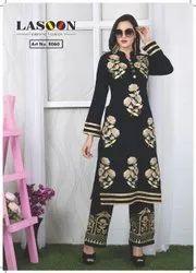 7019 Designer Woolen Kurtis