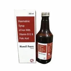 Ferric Ammonium Citrate 160mg Elemental Iron 32.8 Cyanocobalamin7.5 Folic Acid 0.5