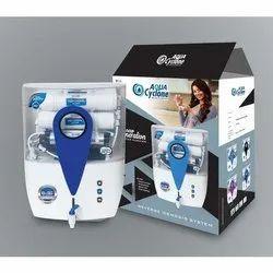 ABS Plastic Aqua Cyclone Water Filter, Capacity: 13 L Tank Capacity, for Home
