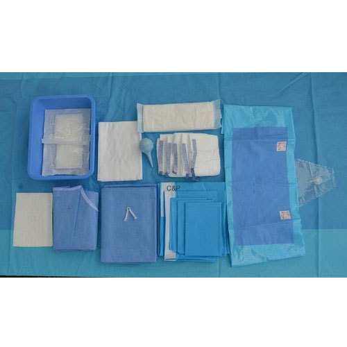 Polypropylene Plain Eco Friendly Surgical Orthopaedic Drapes Kit, Packaging Type: Packet