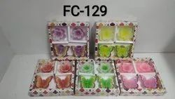 Multi-colour Floating Candles (Set Of 4)