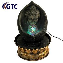 Lord Buddha Water Fountain Show Piece for Home Decorative Home Gifts-  (ITN-16066)