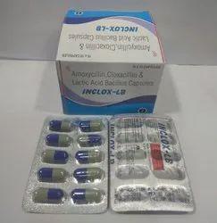 Amoxycillin 250 Mg Cloxacillin Lactic Acid Bacillus(Inclox-Lb)