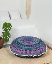 Cotton Floor Cushion Cover