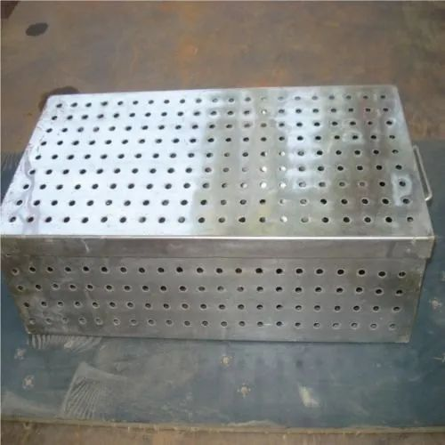 SS Ampoule Covered Box, Thickness: 2.25-10 mm, for Pharmaceutical / Chemical Industry