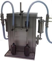 Automatic Twin Head Liquid Filling Machine