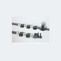 Mild Steel M Drawer Lock, Matte Finish