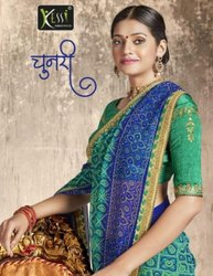 Kessi Chunari Georgette Bandhej Saree Catalog Collection