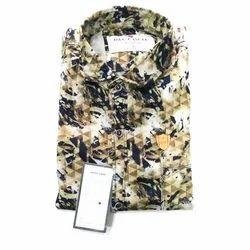 D & C Mens Printed Shirt