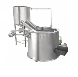 Circular Fryer with In Built Heat Exchanger (Tilting System)